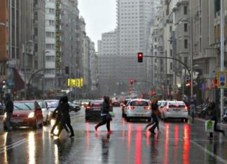lluvias madrid