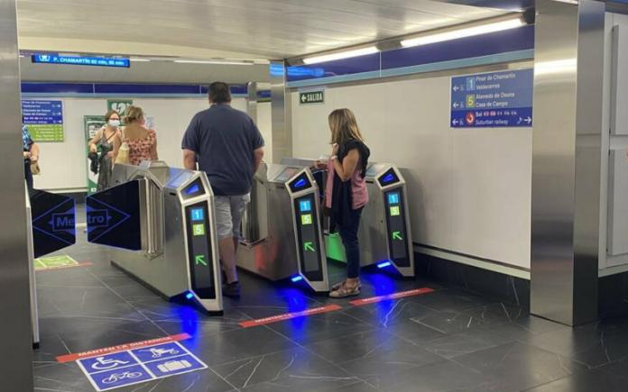 metro gran via madrid