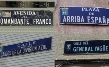 vuelven nombres de calles a Madrid