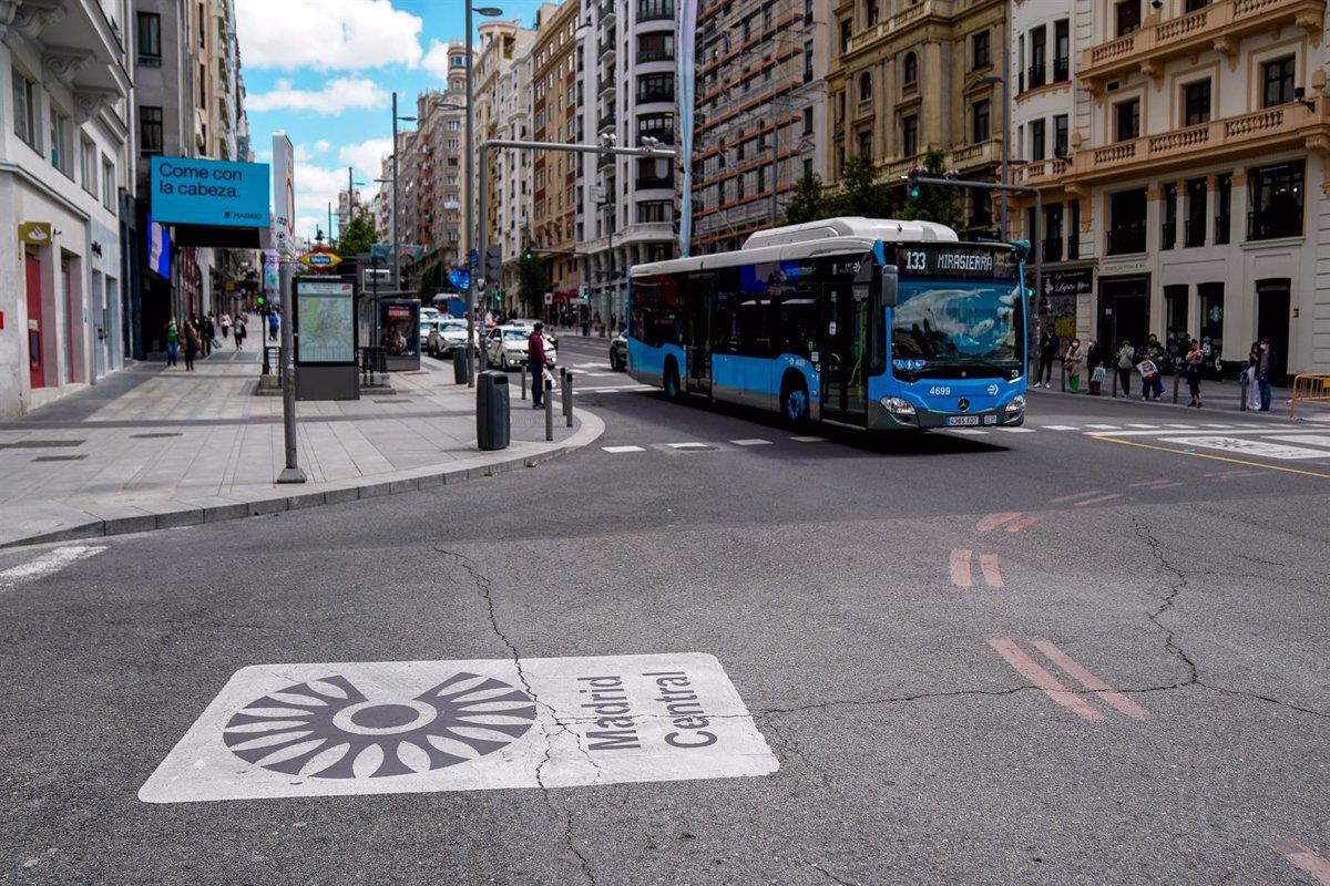 Movilidad sostenible en Madrid