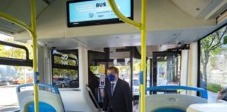 bus lanzadera plaza eliptica isla azul